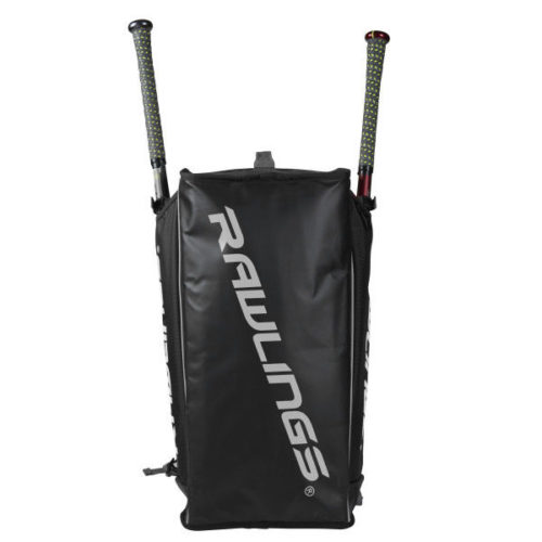 Rawlings – Hybrid Backpack/Duffel Players Bag 2 Bats